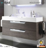 Pelipal Solitaire 7020 - Set 1200mm mit Mineralmarmor-Waschtisch