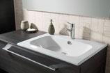 Lanzet  K5 - Keramik Waschtisch-Set 120cm - 1 Auszug -  Becken rechts
