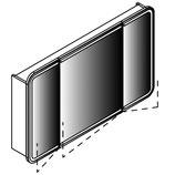Lanzet M9 - LED-Spiegelschrank 80cm