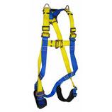 Arnés Estándar Tipo H de 4 argollas  Multipropósito con protector en las piernas EAH-CP-P1