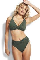 Seafolly High-Waist Wrap Front Pant Bikinislip