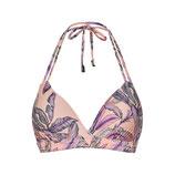 Tropical Blush Triangle Bikinitop