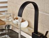 MODELL ZENAL 360° Schwenkbar Küchenarmatur Spültisch Wasserhahn Einhandmischer Orb Edition
