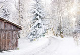 Postkarte Winterlichterweg