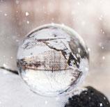 Glaskugel Winterstimmung