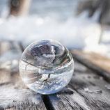 Glaskugel Winterlich