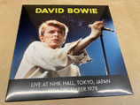 David Bowie - Live At NHK Hall, 12th December 1978