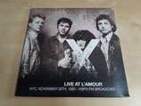 X - Live At Amour NYC 1983 (2LP)