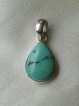 Pendentif petite Turquoise 1