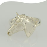 Ring • Pfedekopf • Silber