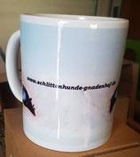 Tasse mit Logo vom Schlittenhunde Gnadenhof e.V