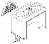 CAPOT gris clair pour moteurs BK - 119RIBK011 CAME