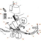 Kit demi-bras pour Evolvia 400/450 - Passeo 800 - 9015541 SOMFY