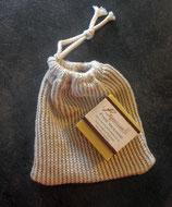 Sac à savon (Soap bag) - en lin et en coton Bio