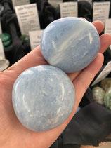Calcite bleue - Grand galet