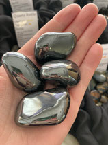 Hématite - pierre roulée