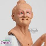 Anciana con roete - 35 cm