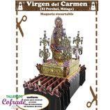 Recortable Virgen del Carmen del Perchel