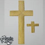 Aplique bordado 33 - cruz sencilla