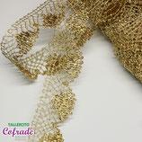 Encaje dorado 283 - 3 cm