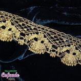 Encaje dorado 434 - 4,5 cm