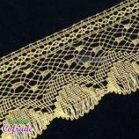 Encaje dorado 212 - 8cm