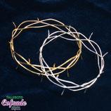 Corona Espinas - Plateadas