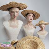Sombrero mimbre para imagen - varios tamaños