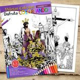 Coloreable 2 - Viñetas Cofrade