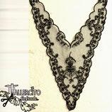 Cuello 02 - Negro tul