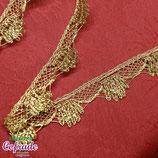 Encaje dorado 303 - 2,5 cm