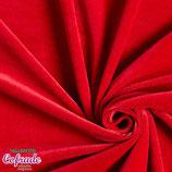 Terciopelo calidad 513 - Rojo intenso