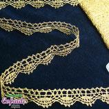 Encaje dorado 173 - 2,5 cm