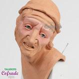 Hombre mayor con gorro - 35 cm