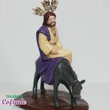 Pintar4310- Cristo Borriquita 17 cm