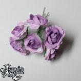 Flores 3-3,5cm Moradas