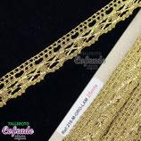 Encaje dorado 216 - 1,5cm