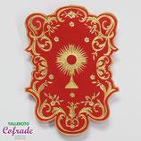 Estandarte Sacramental sobre tela - para 16,5 a 20 cm