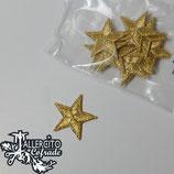Aplique Bordado 62 - Estrella oro