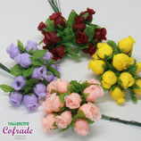 Flores 02 - Rosas de tela