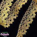 Encaje dorado 106 - 2cm