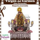 Recortable Virgen del Carmen