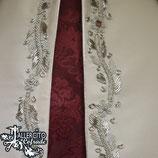 Manto bordado en plata - Para 16,5 cm