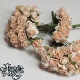 Flores Salmón claro 1 cm
