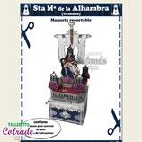 Recortable Angustias de la Alhambra