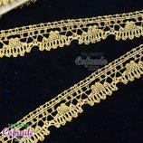 Encaje dorado 182 - 2cm