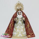 Virgen 16,5 cm - Vestida Trinidad