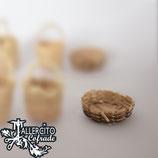 Capazo mimbre 4492 - 4 cm