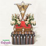 Recortable Cristo de la Expiración de Jerez