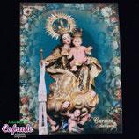 Estampitas orla - Virgen del Carmen
